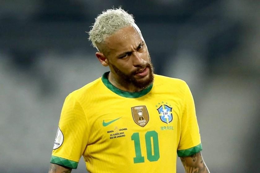 Neymar Brazilian Team
