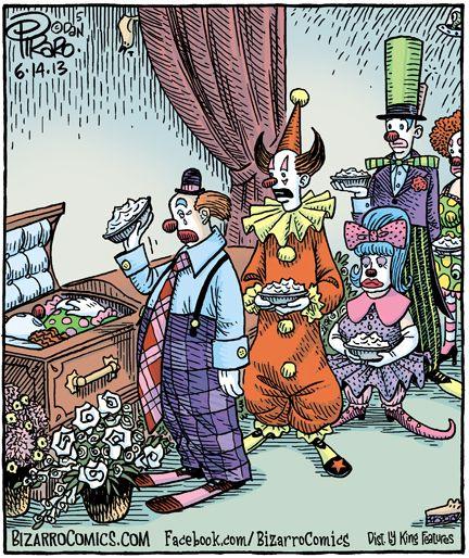 A Clown Funeral Neatorama
