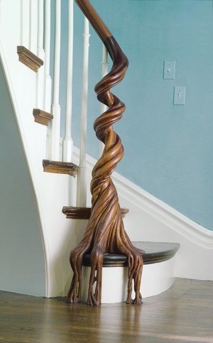 Best 43 Inspiration Amazing Carved Stairs Design