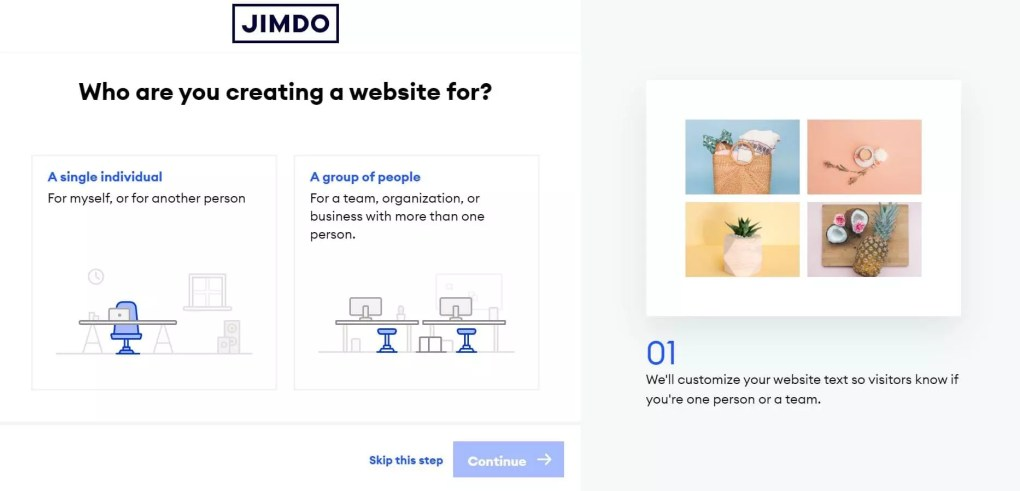Who are you creating a website for?