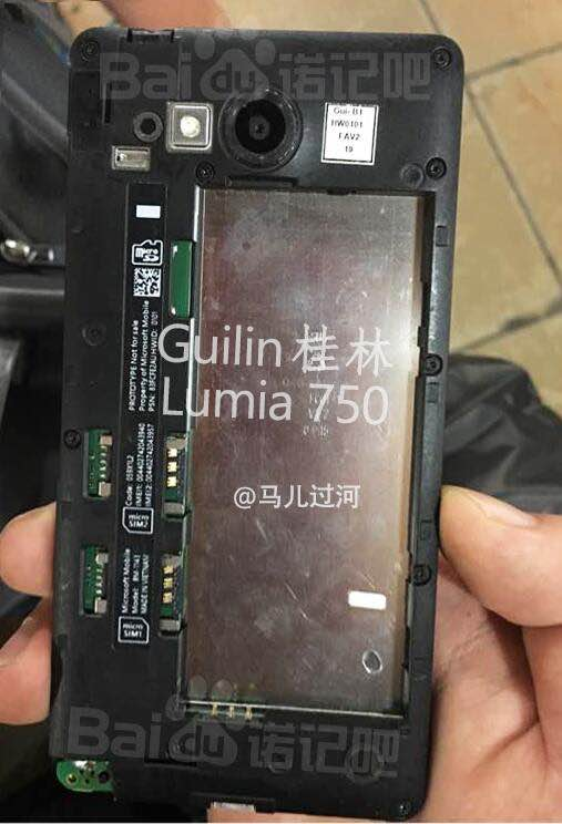 Vuotokuvassa Lumia 750