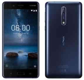 Evan Blassin julkaisema kuva Nokia 8 -puhelimesta