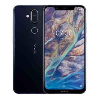 Nokia X7 sinisenä