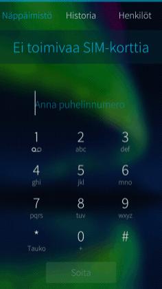 Päivitetty Puhelin-sovellus