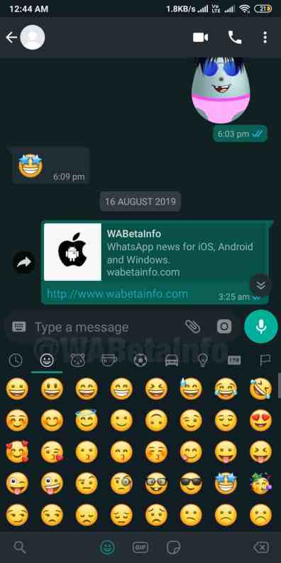 Chat_DarkTheme_Android