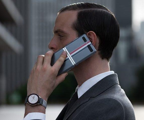 Galaxy Z Flip Thom Browne -erikoisversio