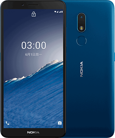nokia_C3-CHN-front_back-Nordic_Blue