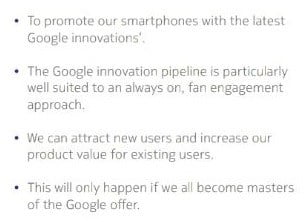 Google-as-a-partner