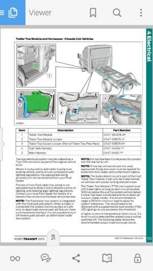 Trailer Light Wiring  Page 2  Ford Transit USA Forum
