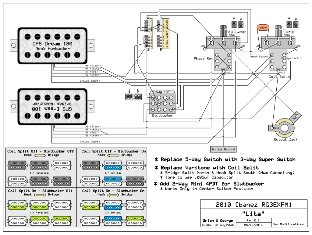 Jackson Pickup Wiring Diagram