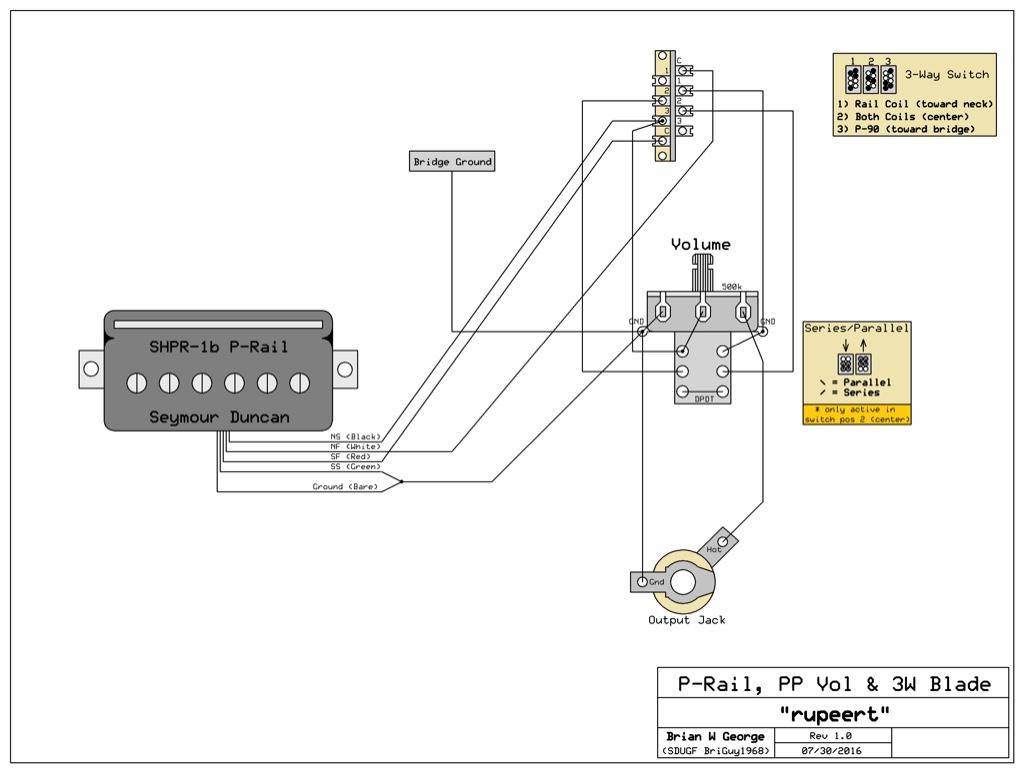 P-Rails Wiring Question