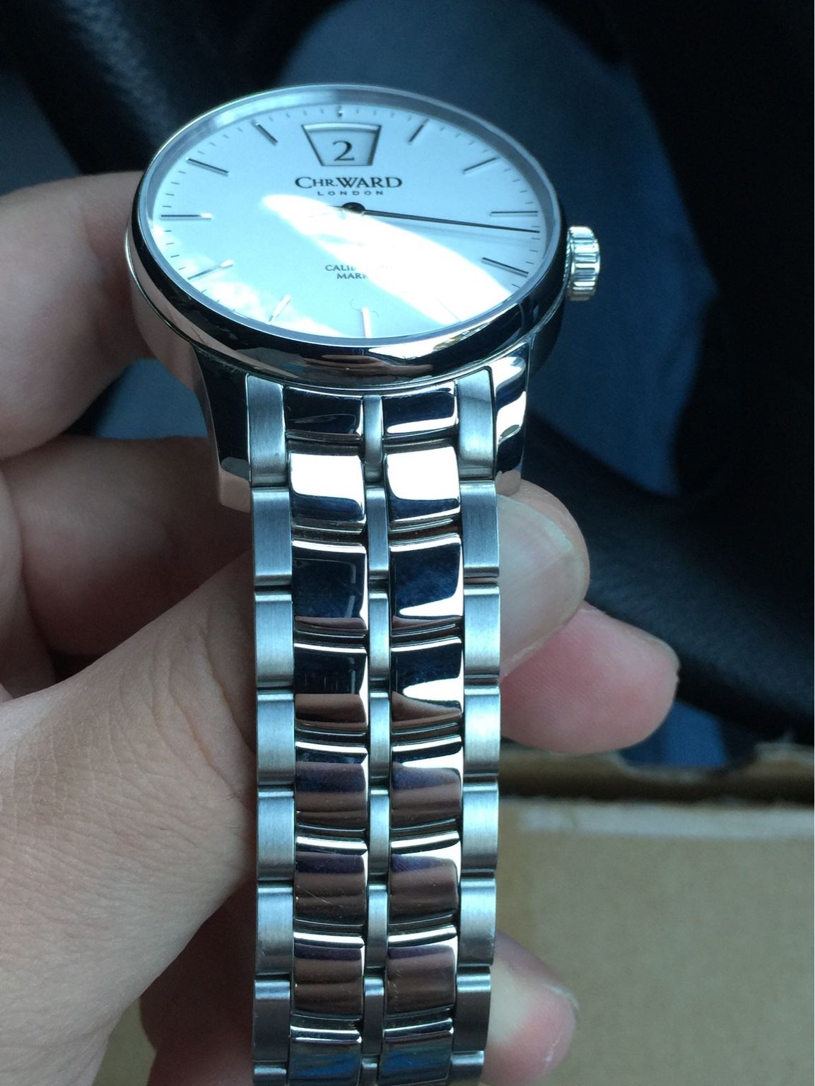 SOLD Christopher Ward C9 Jumping Hour Mkiii 40mm On