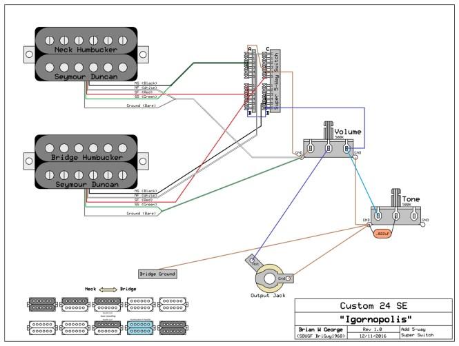 Telecaster 5 Way Super Switch Wiring - Wiring Diagram