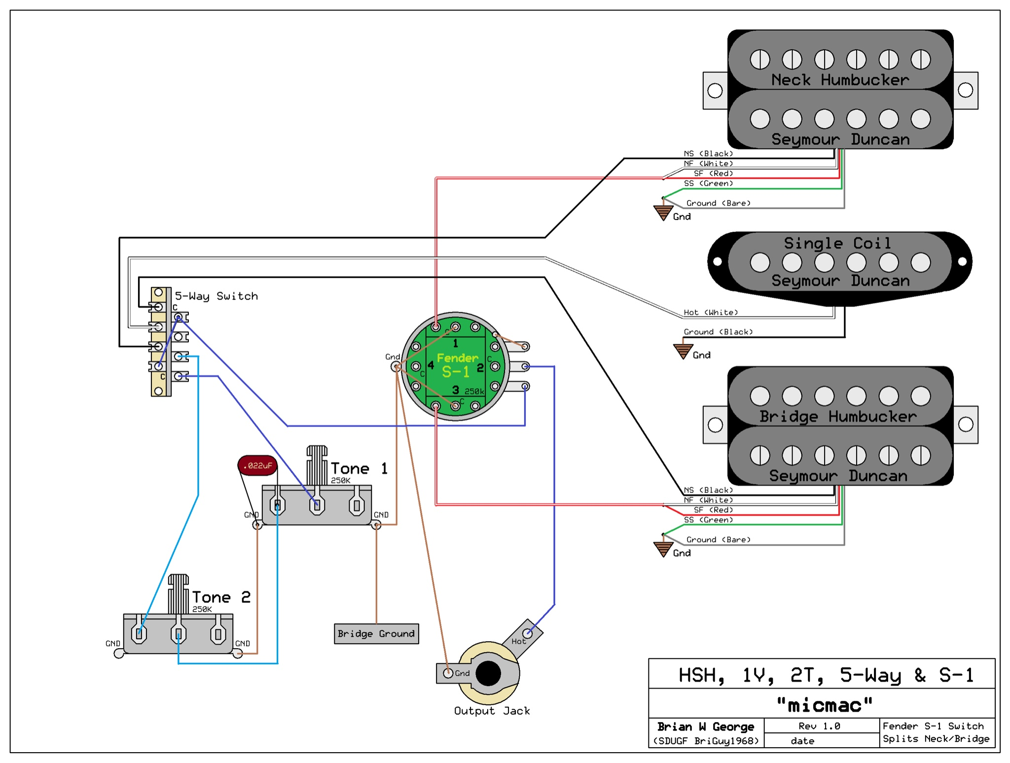 Wiring Diagram For Gibson P90 Pickups Pickup Humbucker