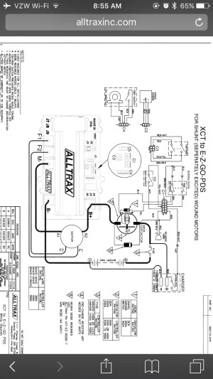 Alltrax XCT PDS Install question