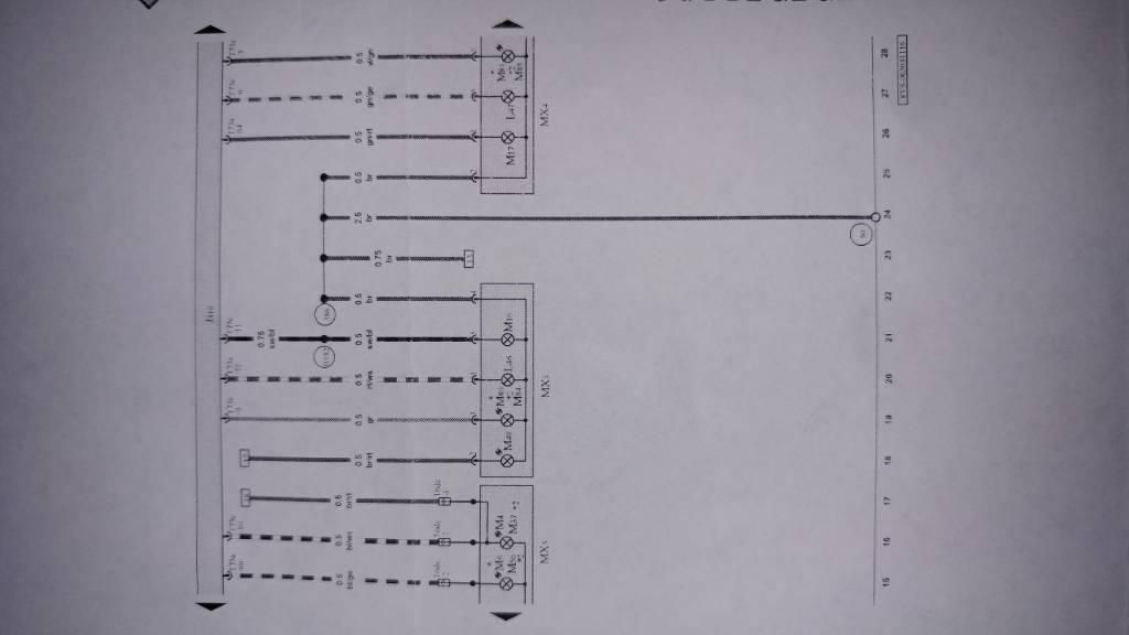 Audi A3 Tail Light Wiring Diagram