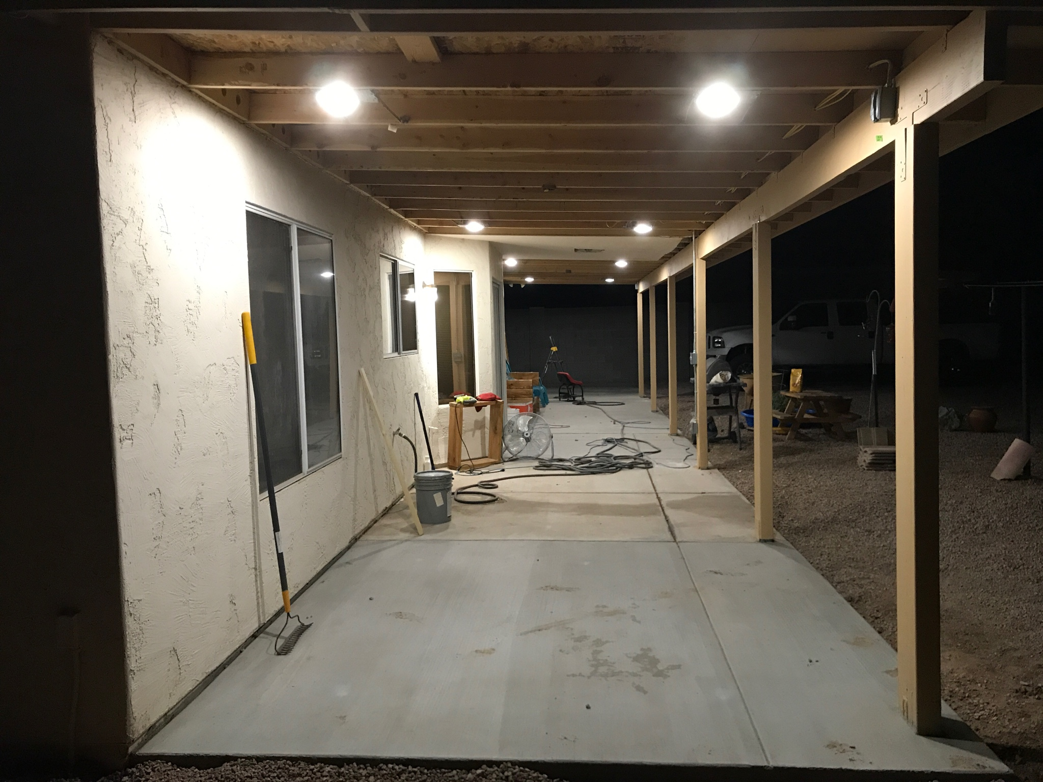epoxy coating for covered patio