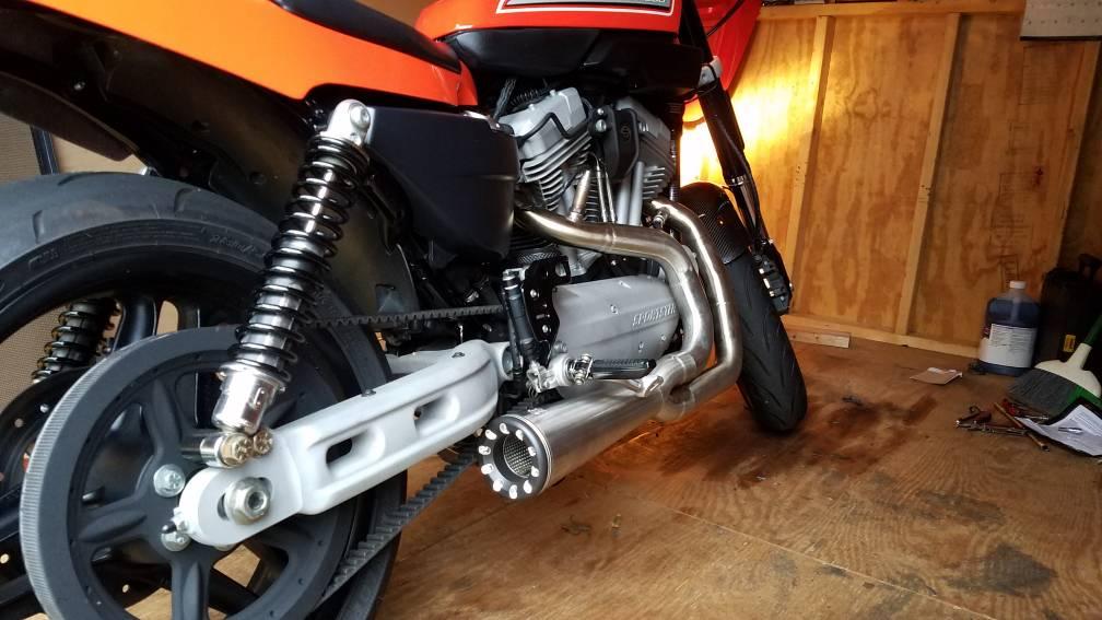 danmoto highwayman exhaust install