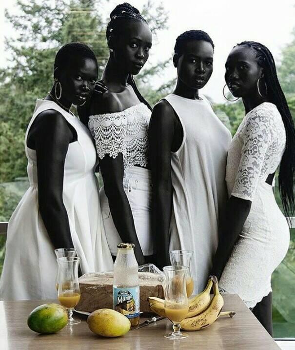 Brown Skin Black People
