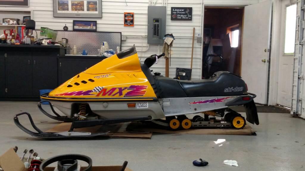 Doo 1999 440 Mxz Ski