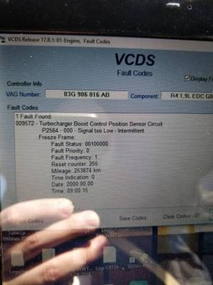p2564 signal too low code | VW TDI forum, Audi, Porsche, and Chevy Cruze diesel forum