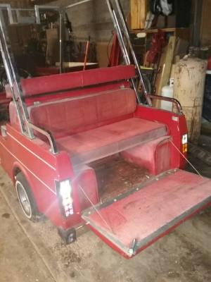 Western golf cart