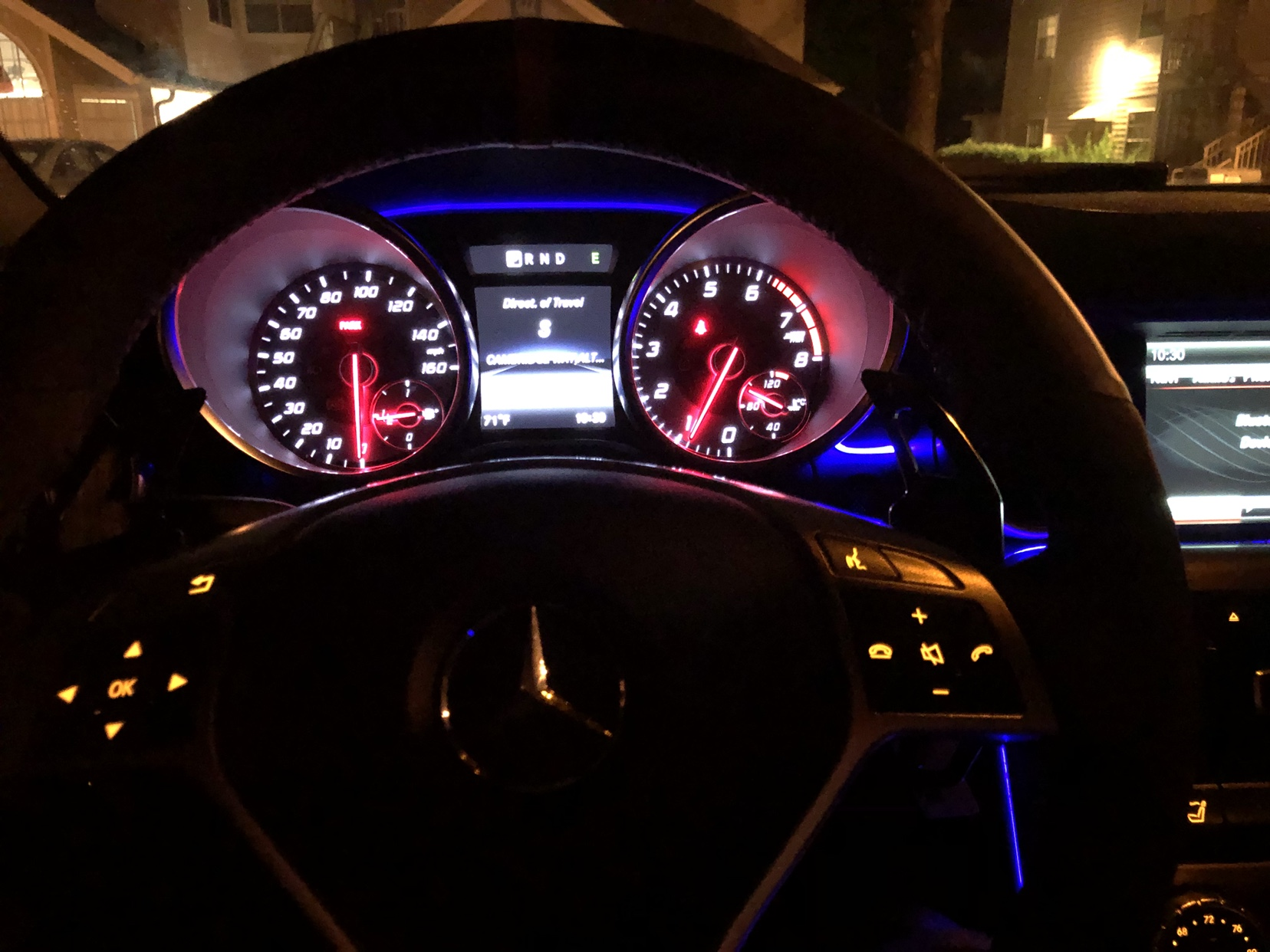 color changing ambient lighting