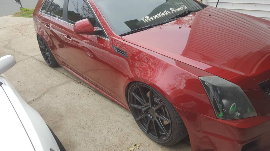 Lowered Cadillac Cts 2008
