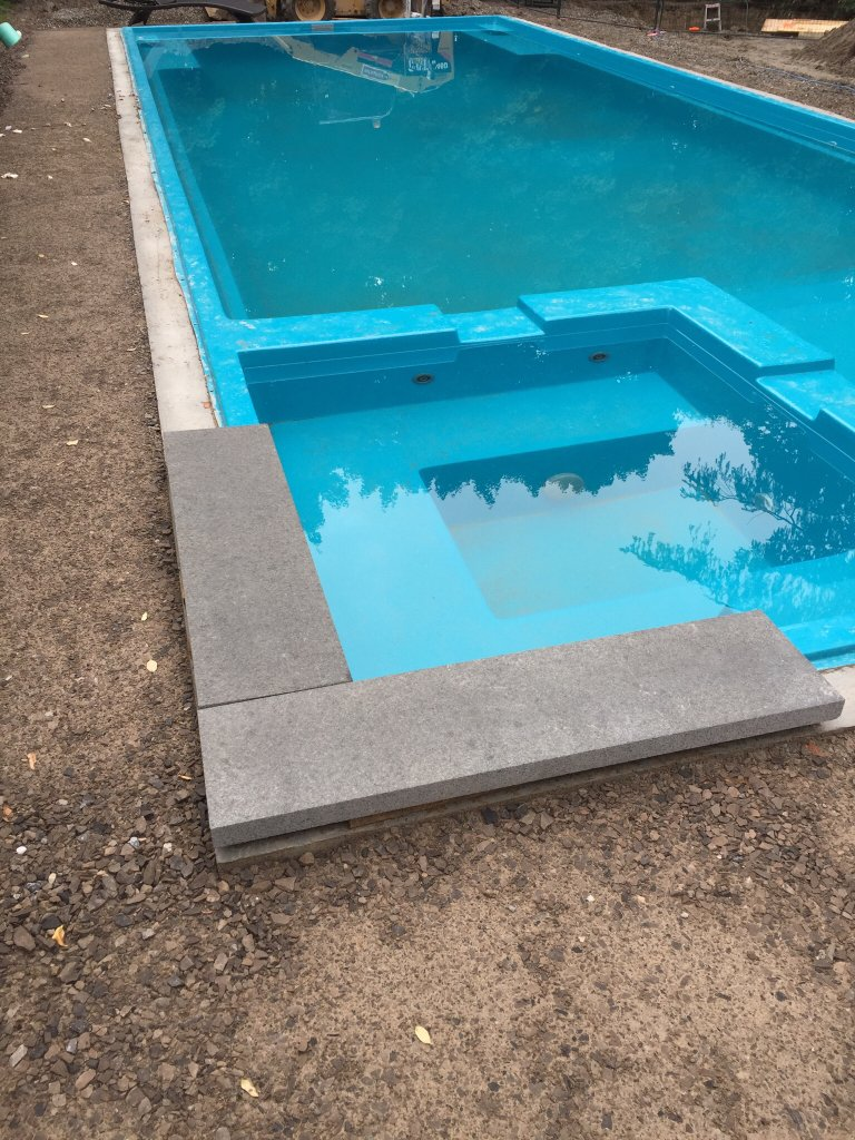 pool coping mortar and grout choices