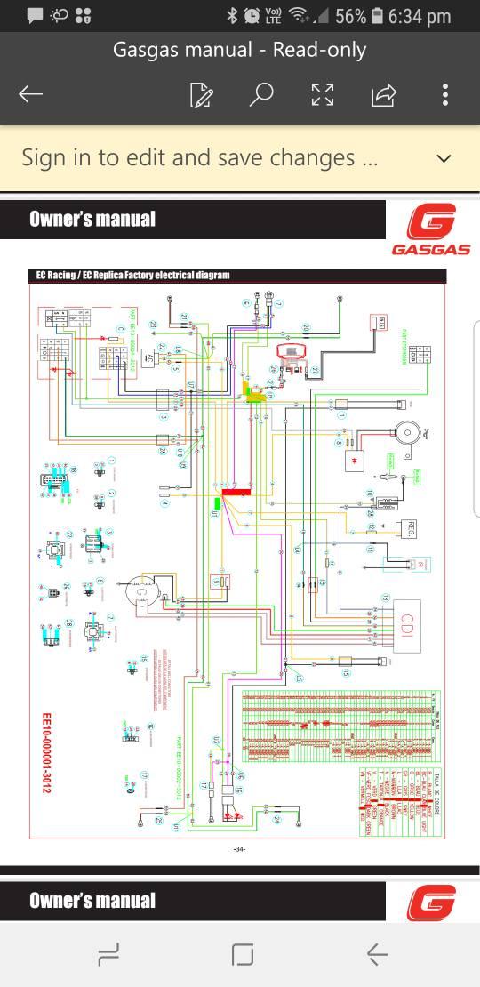 Gasgas Lighting Problem Dbw Dirtbikeworld Net Members Forums