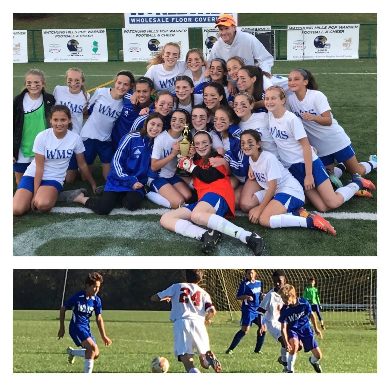 Warren Middle School Girls Soccer Team Wins Championship