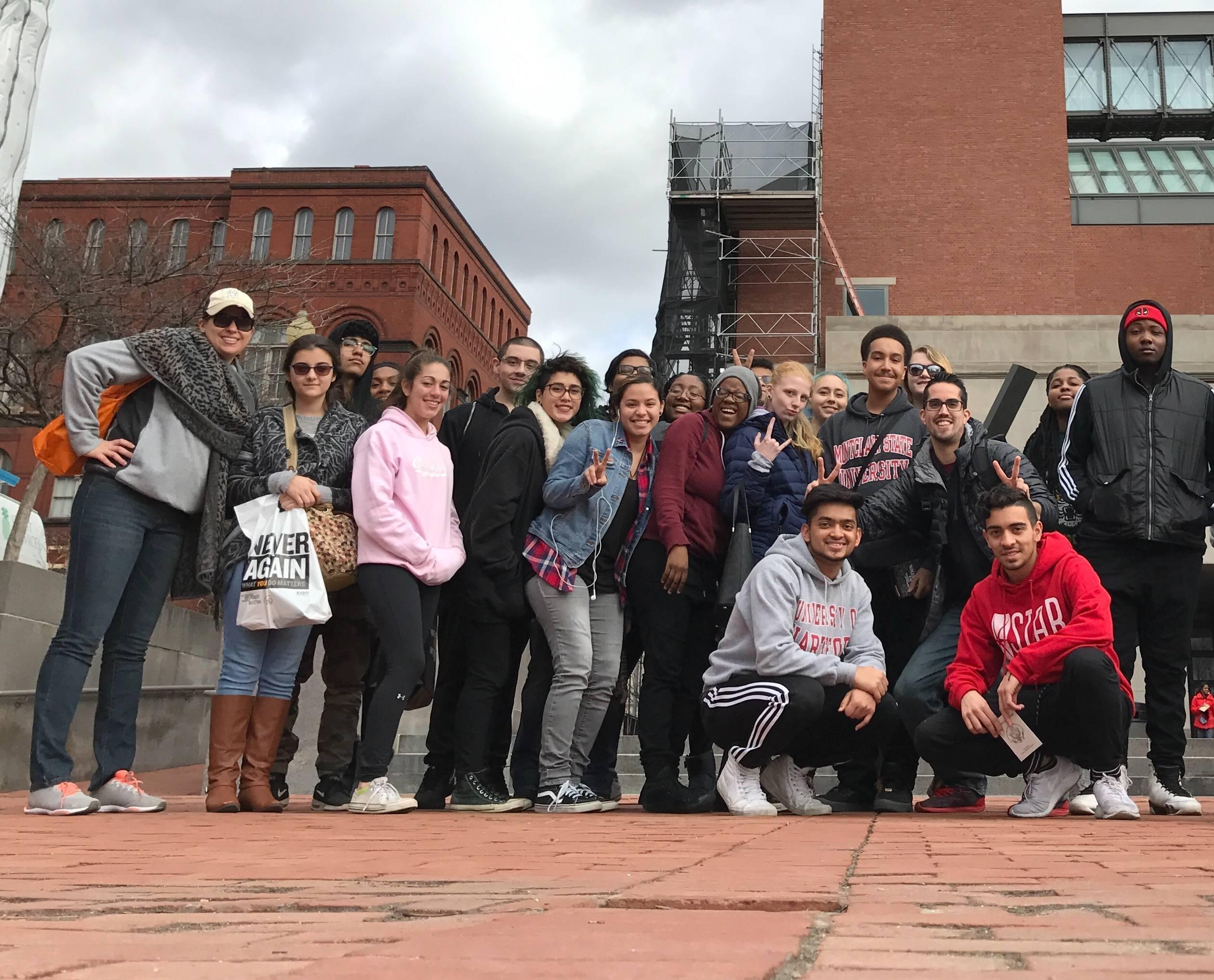 Union High School Students Visit Holocaust Museum