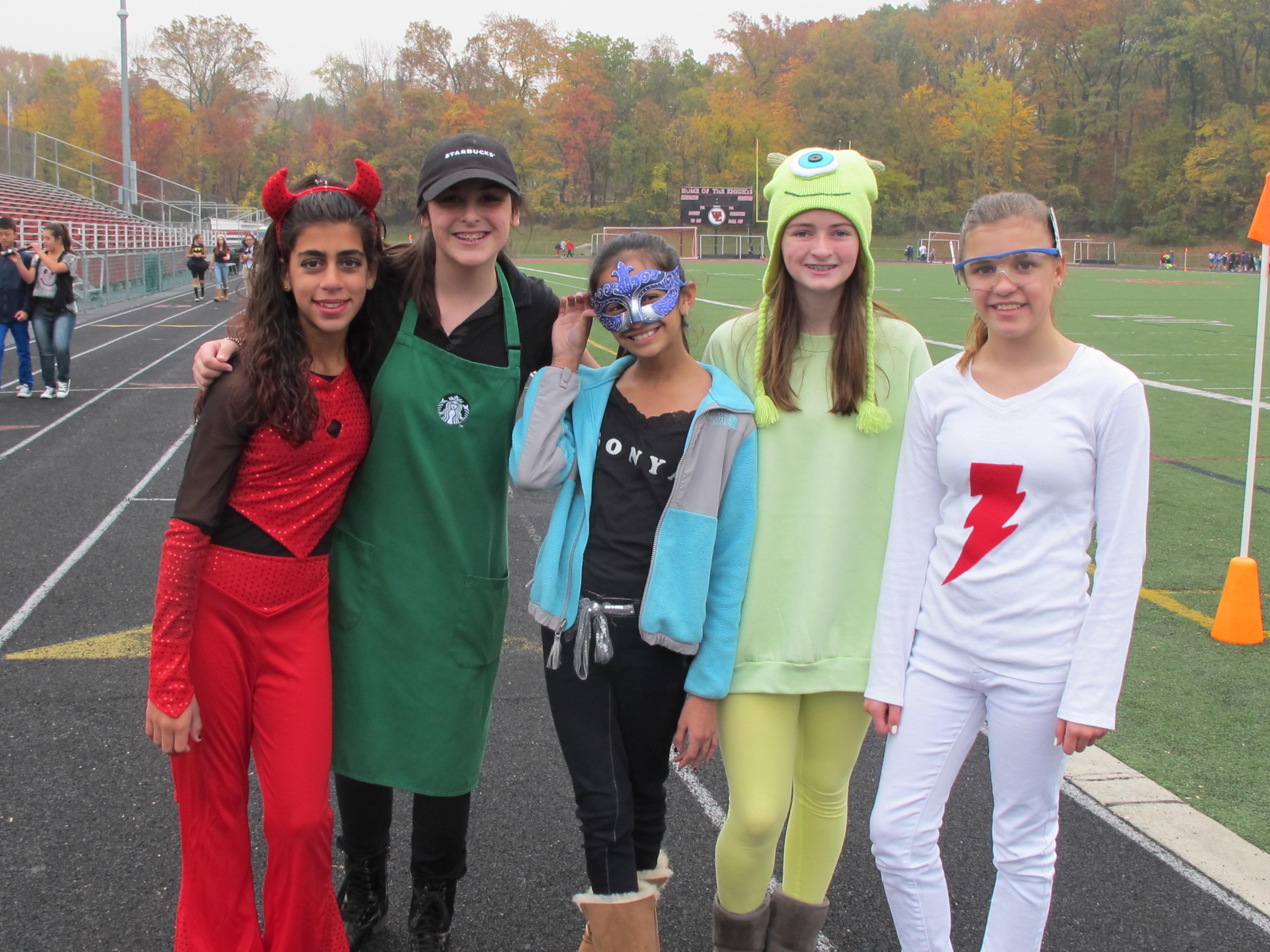West Esregional Schools Observe Halloween With
