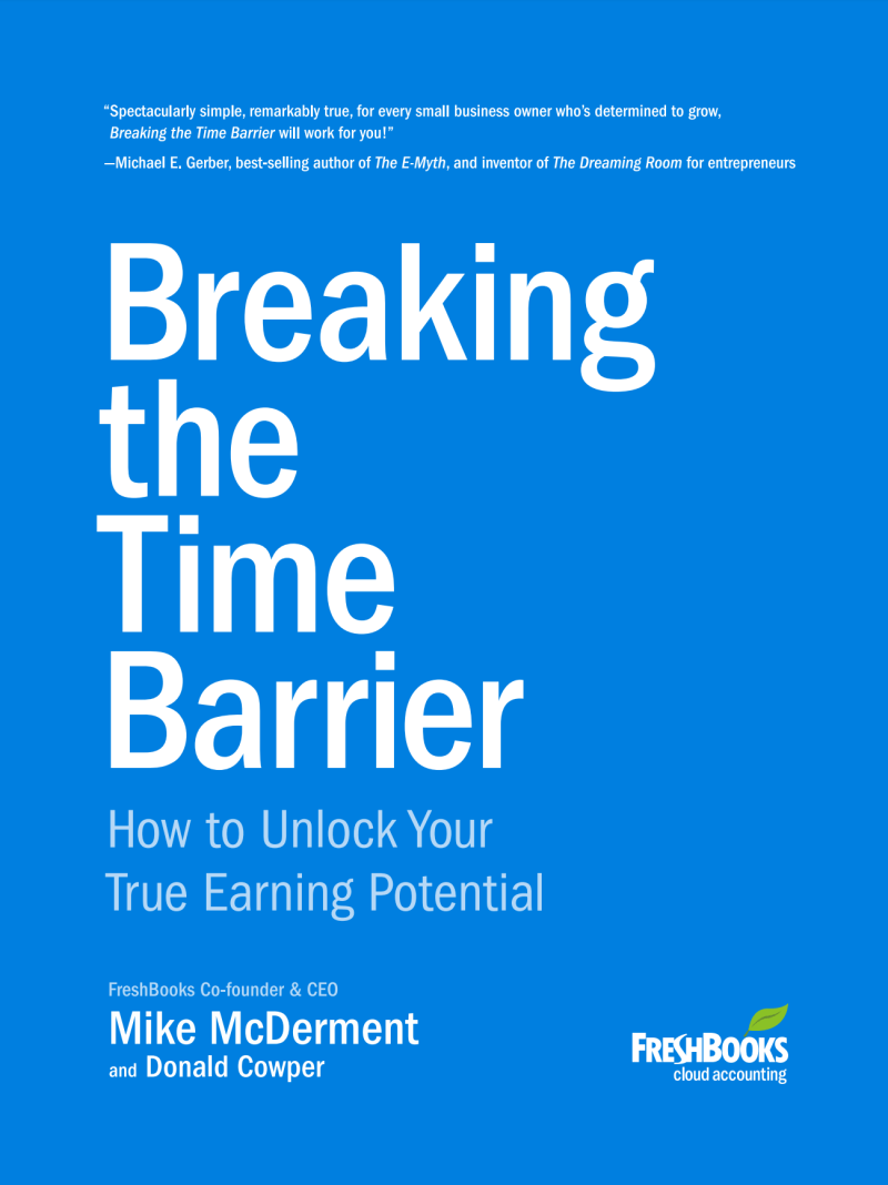 Breaking the Time Barrier — Mike McDerment and Donald Cowper