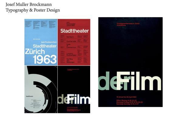 Posters de Josef Muller Brockmann