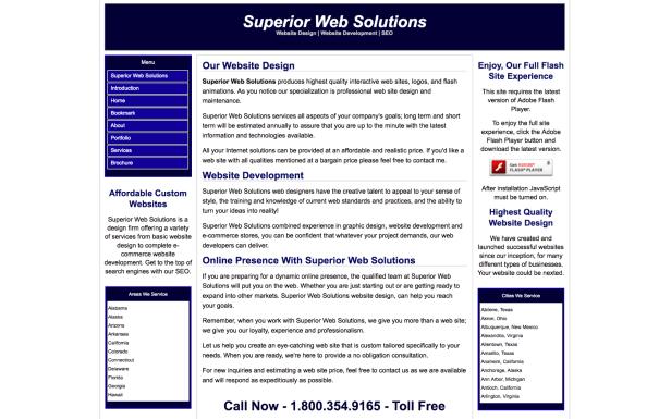 mala web ux demasiado texto en el sitio web