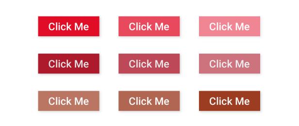 prueba de contraste del botón web para web ux