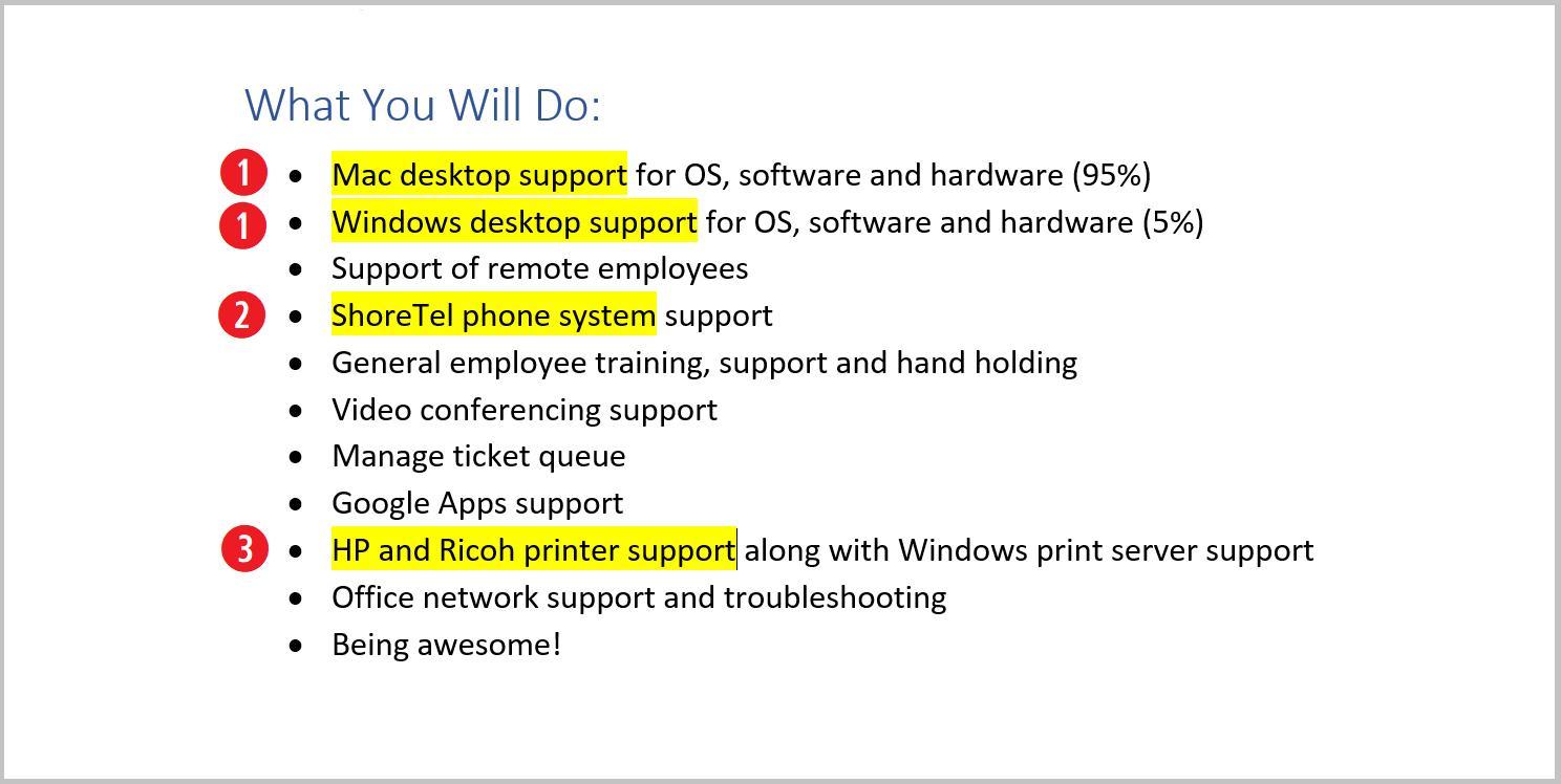 Help Desk Resume Sample Complete Guide 20 Examples  Help Desk Support Resume