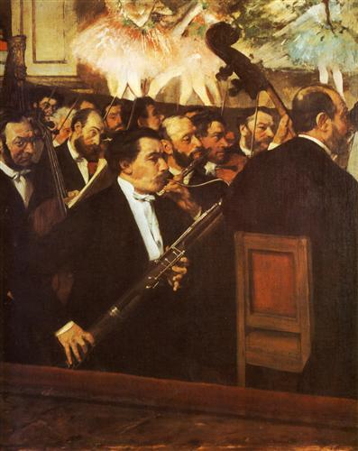 Orchestra of the Opera - Edgar Degas