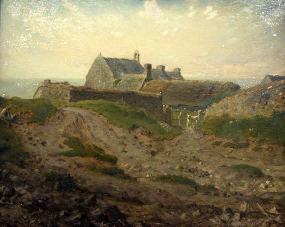 Priory At Vauville Normandy Millet Jean Francois