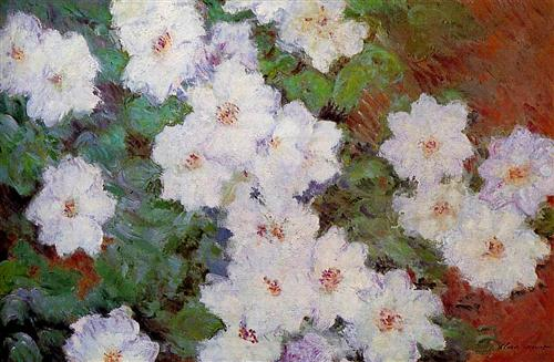 Clematis - Claude Monet