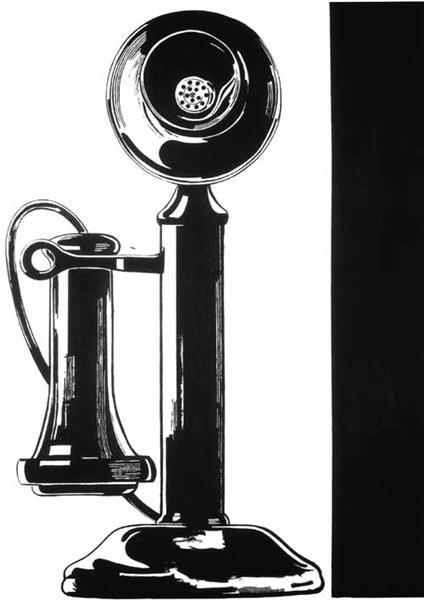Telephone, 1961 - Andy Warhol