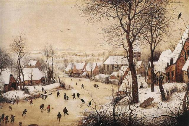 Winter Landscape by Bruegel