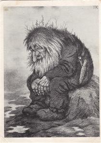 Theodor Severin Kittelsen 375 Artworks Drawing
