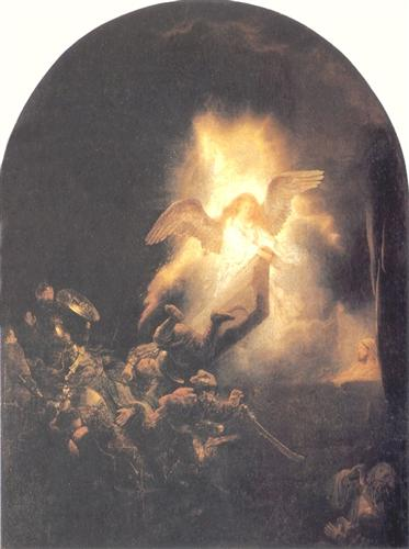 The Resurrection of Christ - Rembrandt
