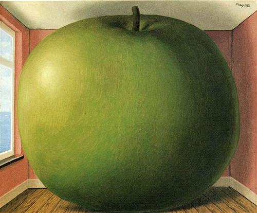 The Listening Room - Rene Magritte