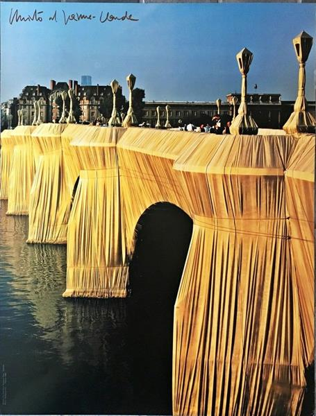 Pont Neuf Paris 1975 1985 Christo And Jeanne Claude Wikiart Org