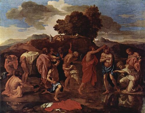 Baptism - Nicolas Poussin