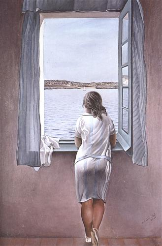 http://www.wikipaintings.org/en/salvador-dali/figure-at-a-window