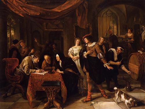 Wedding of Tobias and Sarah - Jan Steen